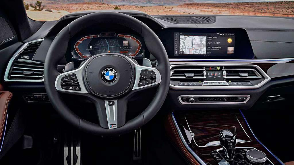 Фото внутри BMW X5 2019