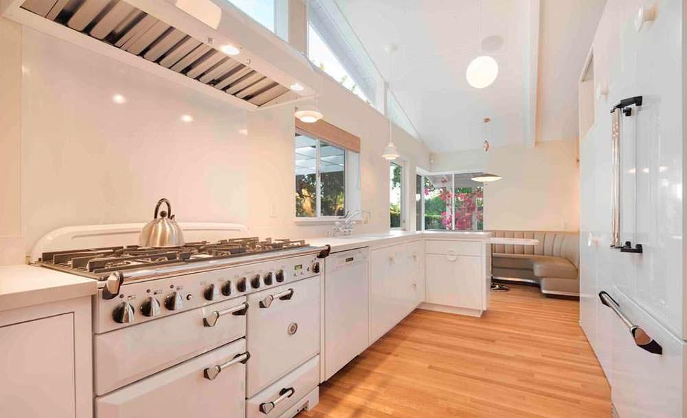 Ретро дизайн кухни