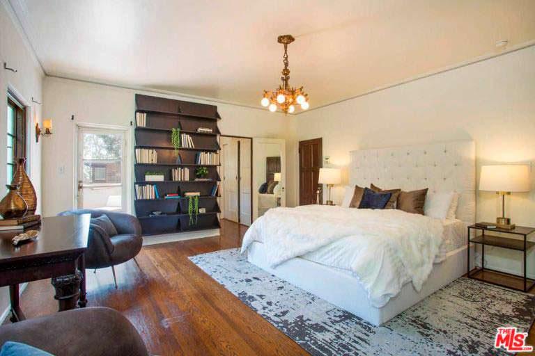 Спальня в доме Фрэнсис Бин Кобейн