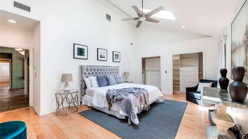 Спальня в доме Гари Валентайна