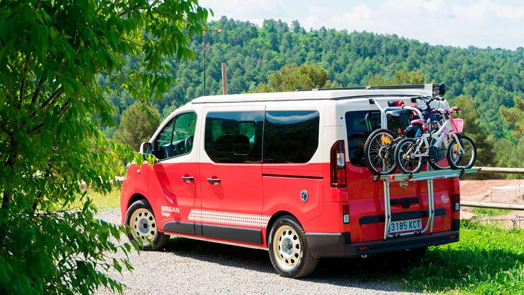 Дом на колесах Nissan NV300 Camper