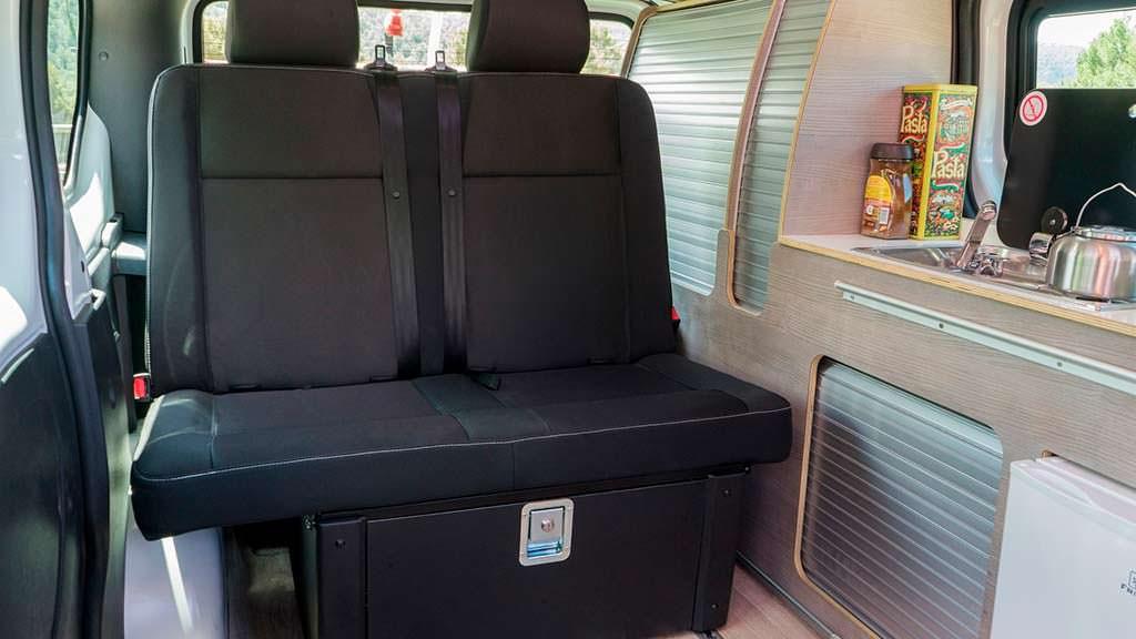 Раскладные сиденья Nissan e-NV200 Camper