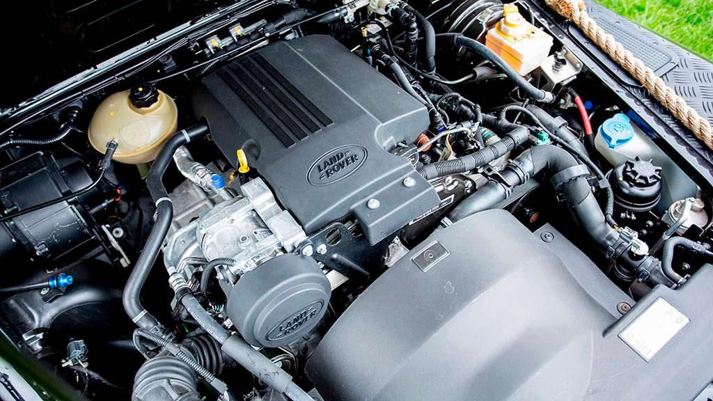 Двигатель Land Rover Defender SVX мощностью 185 л.с.