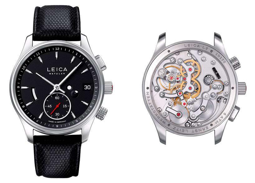 Минималистские часы Leica L2