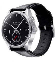 Leica представила минималистские часы с ручным подзаводом