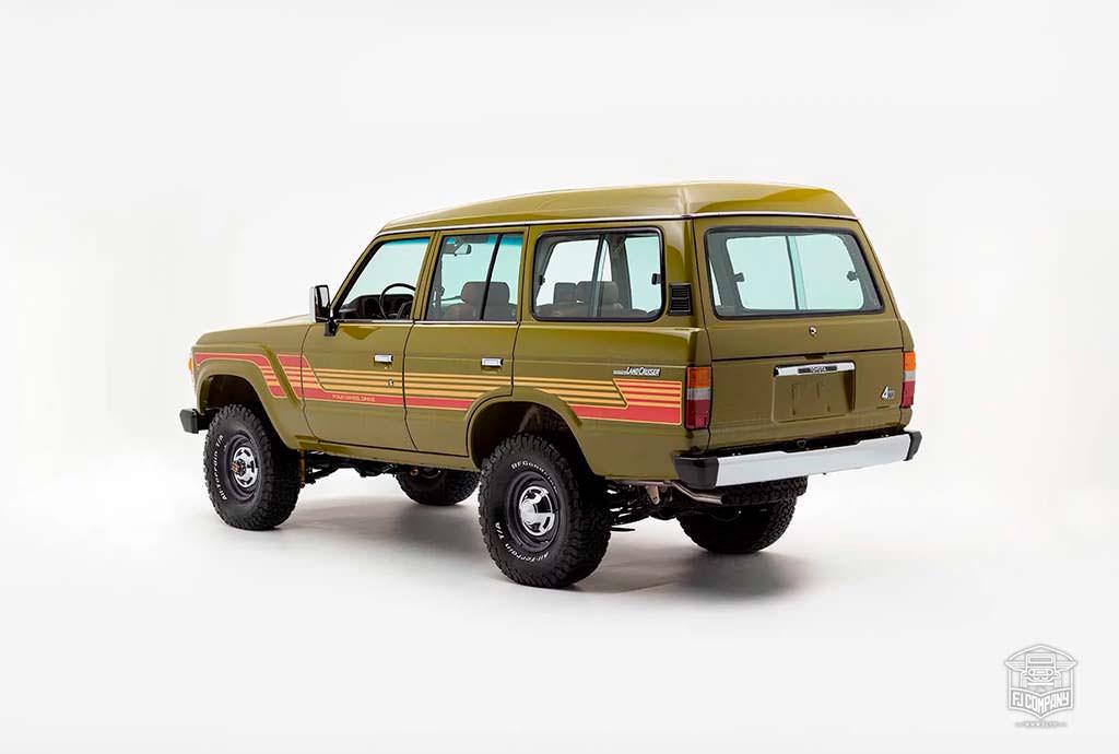 Отреставрированная Toyota Land Cruiser 1986 года