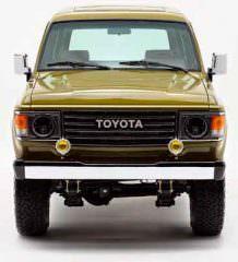 Рестомод внедорожника Toyota Land Cruiser 1986 года | фото