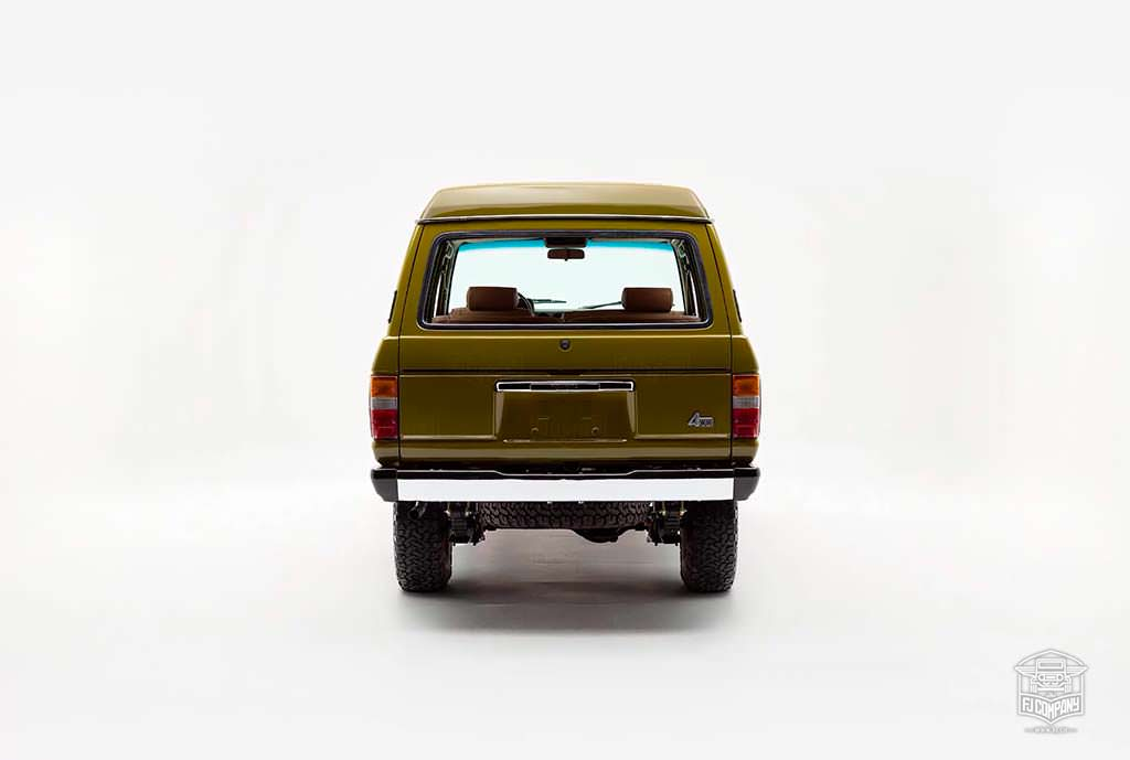 Toyota Land Cruiser FJ62 1986 года. Реставрация FJ
