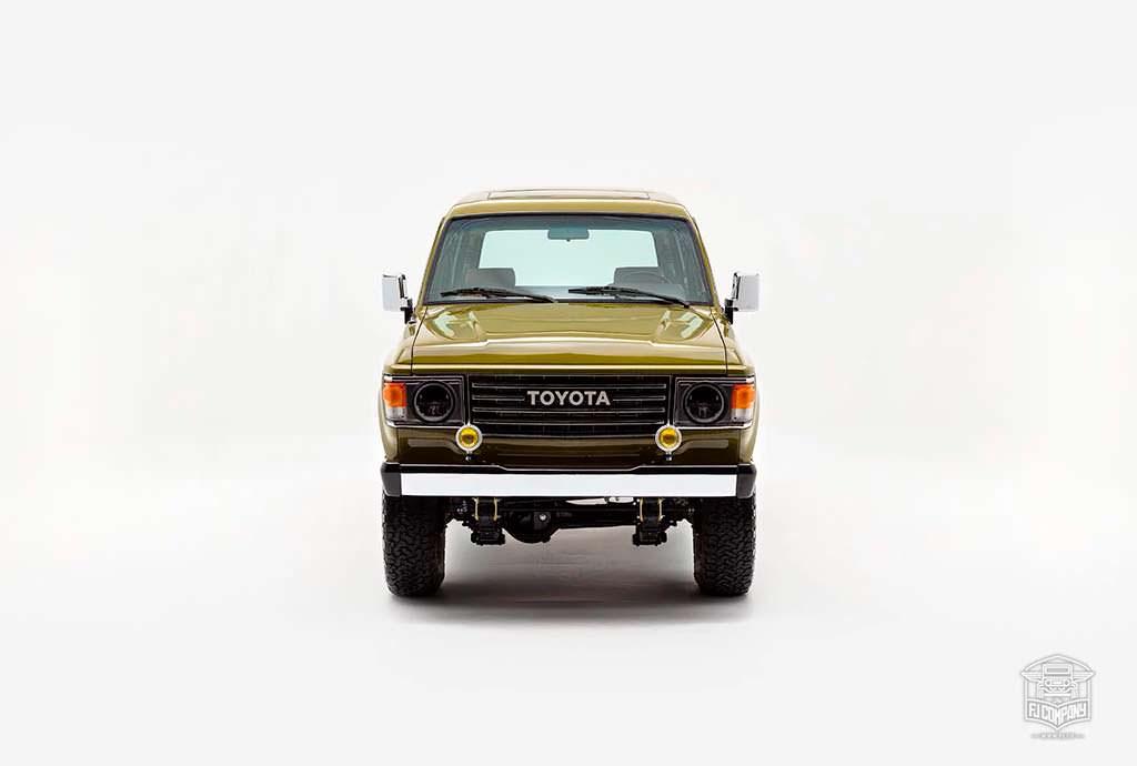Toyota Land Cruiser FJ62. Реставрация FJ