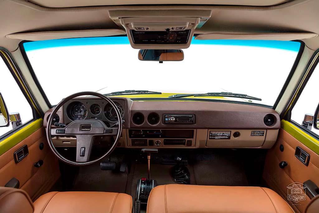 Фото салона Toyota Land Cruiser FJ62