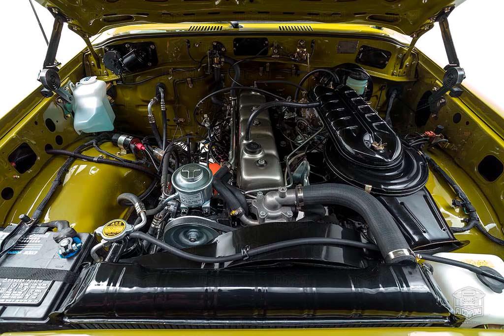 Двигатель Toyota Land Cruiser FJ62