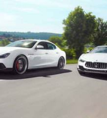 В Novitec сделали мощный тюнинг Maserati Ghibli S | фото