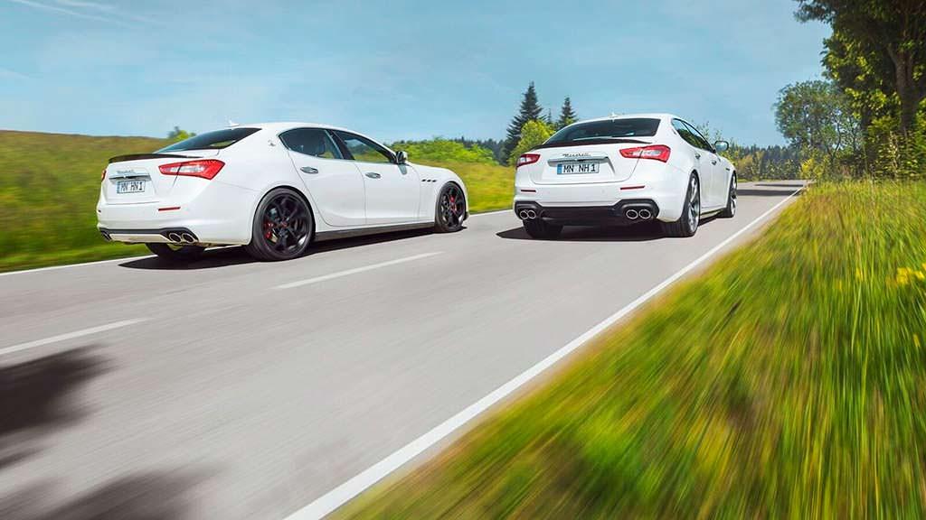 Maserati Ghibli S. Тюнинг Novitec
