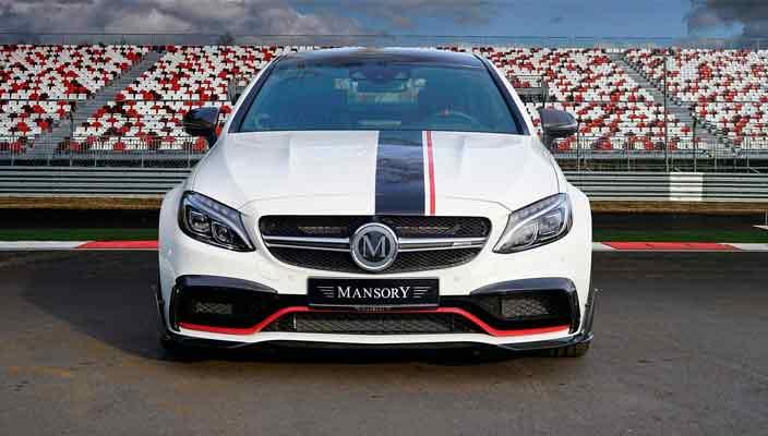 Тюнинг Mercedes-AMG C63 до 650-сил от Mansory | фото
