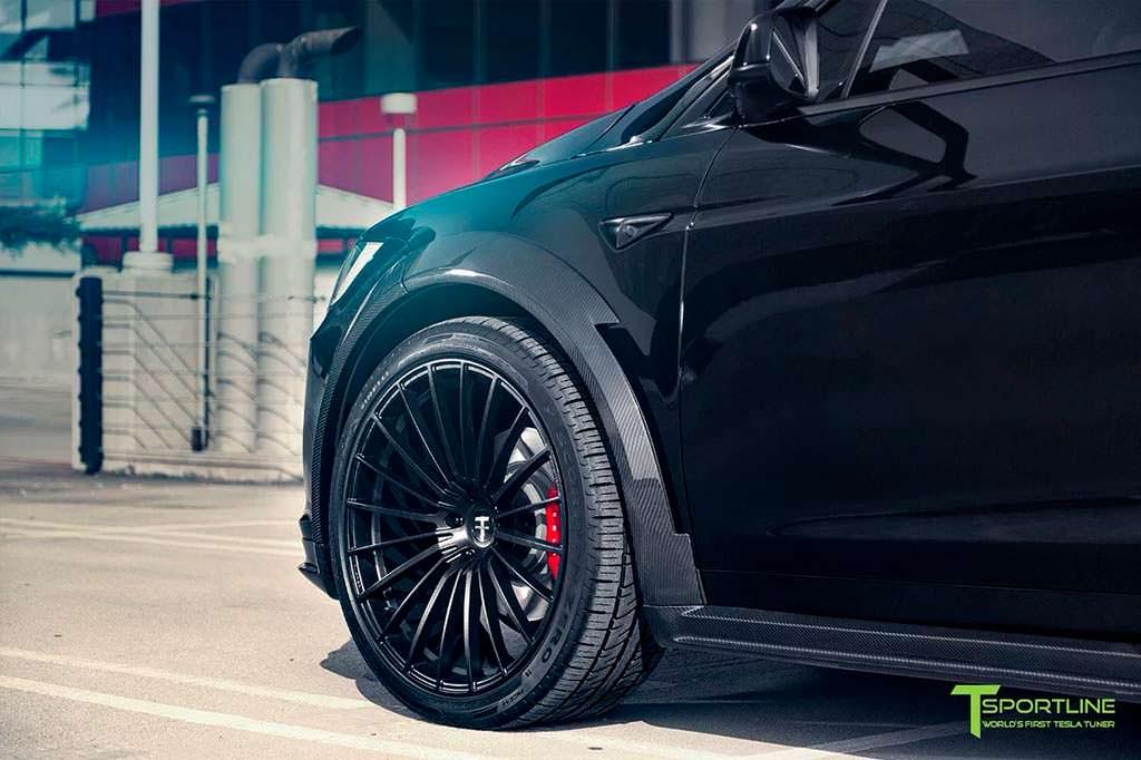 22-дюймовые колеса Tesla Model X T Largo от T Sportline