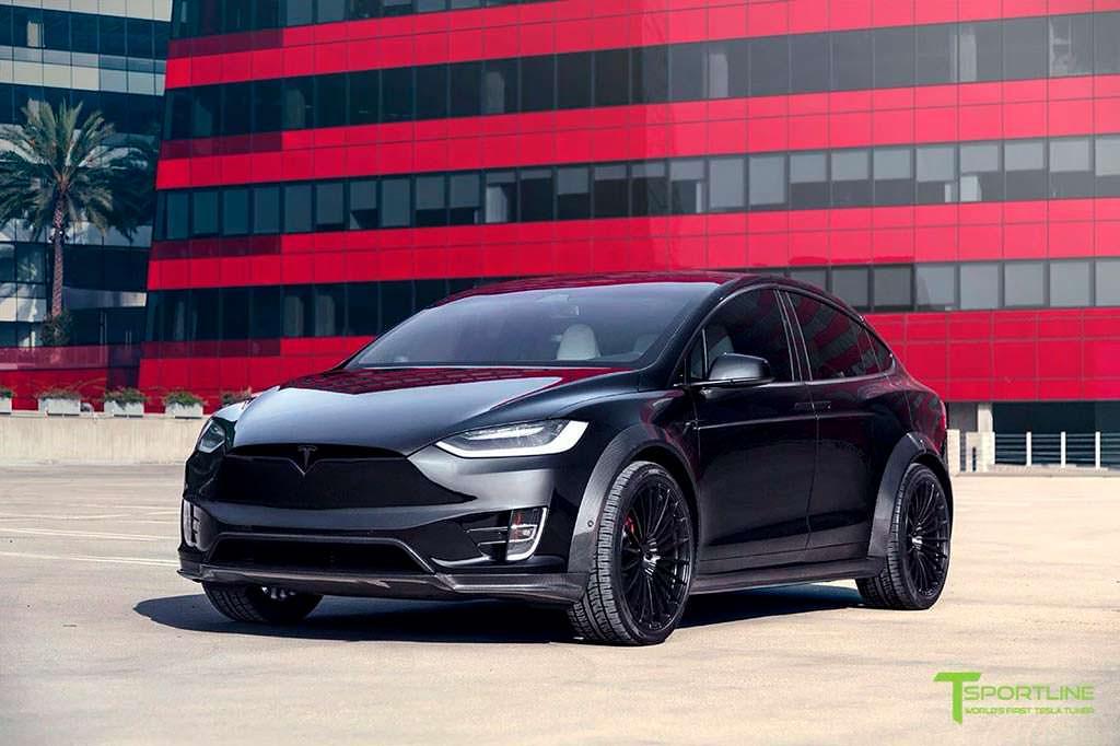 Тюнинг Tesla Model X T Largo