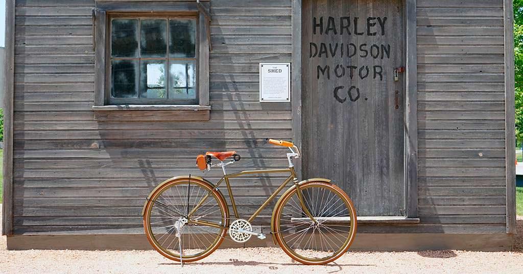 Велосипед Harley-Davidson 7-17 Standard образца 1917 года