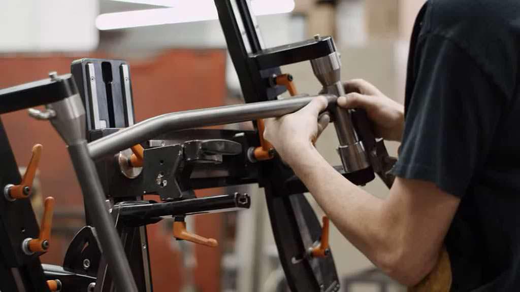 Изготовление рамы велосипеда Harley-Davidson