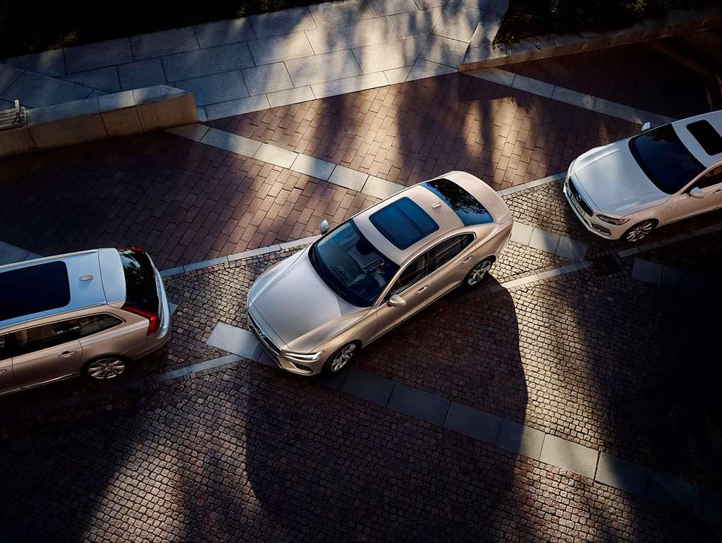 Автопилот парковки Volvo S60