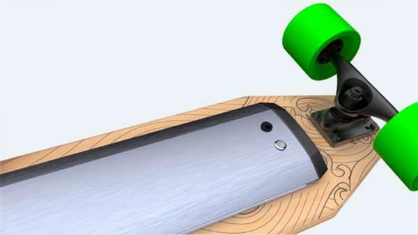 Электро-скейтборд Xiaomi на алюминиевом шасси