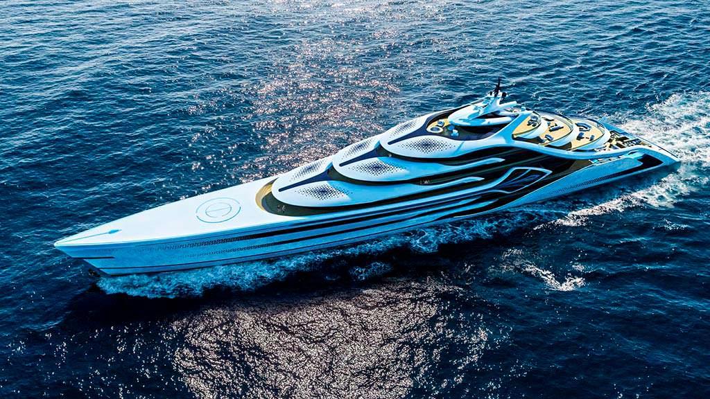 175-метровая яхта Acionna от Andy Waugh Yacht Design