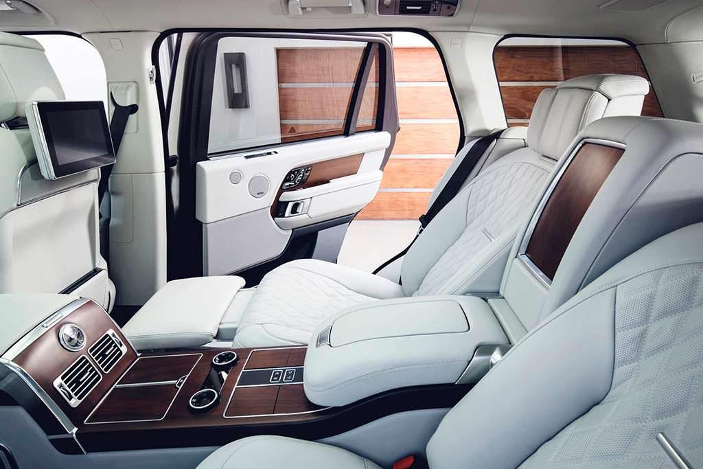 Задние сиденья Range Rover 2019