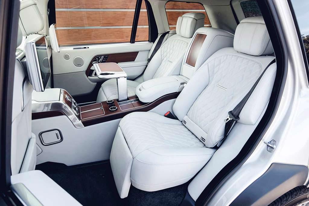 Пассажирские сиденья с массажем в Range Rover 2019