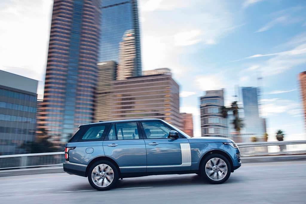 Обновленный Range Rover 2019 года