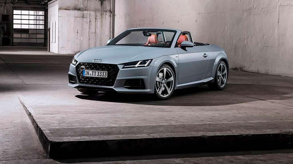 Юбилейная Audi TT 20 years. Тираж 999 единиц