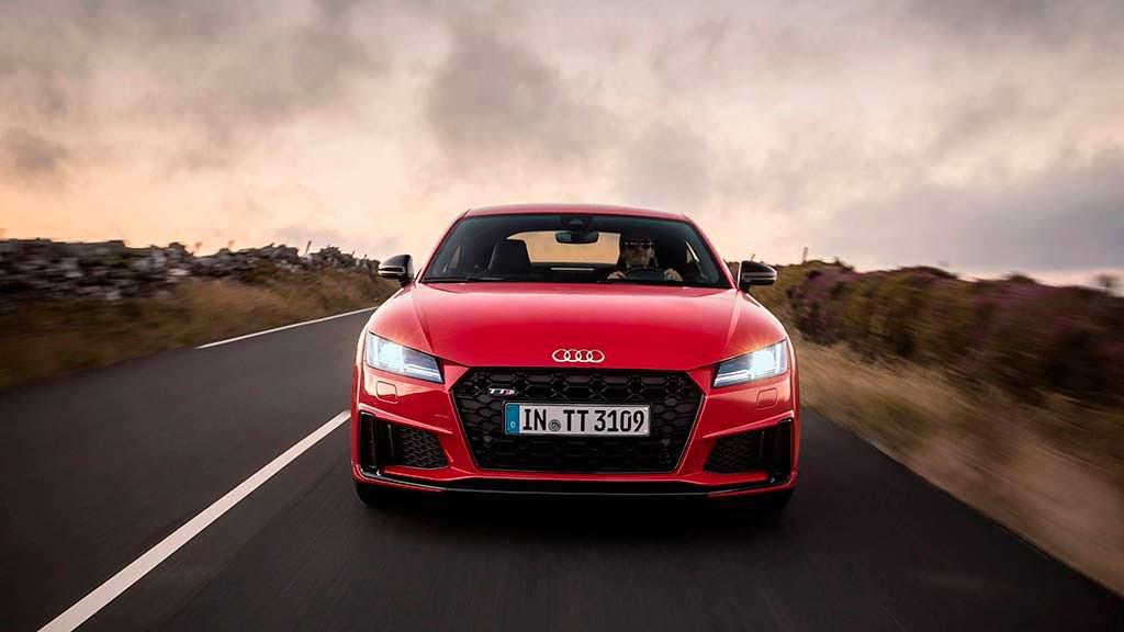 Новая Audi TTS 2019