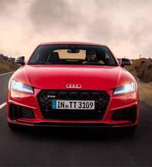 Audi TT обновилась на 2019 год официально | фото, видео