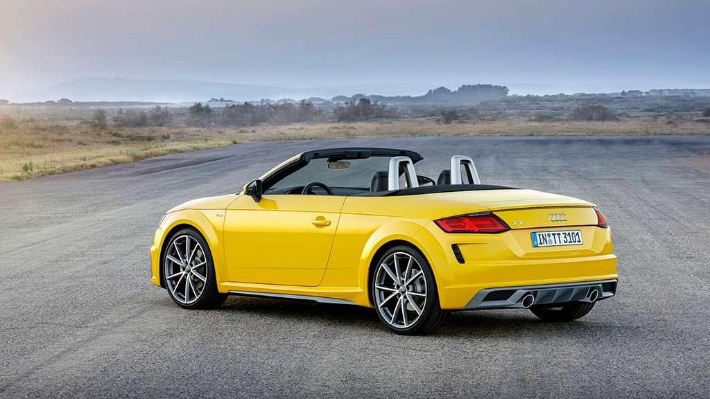 Новая Audi TT Roadster 2019