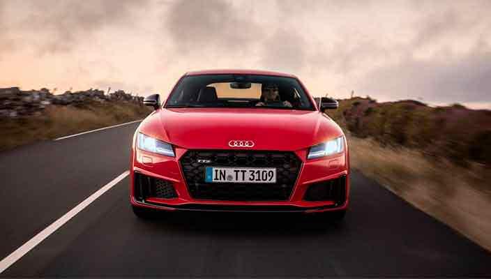 Audi TT обновилась на 2019 год официально   фото, видео