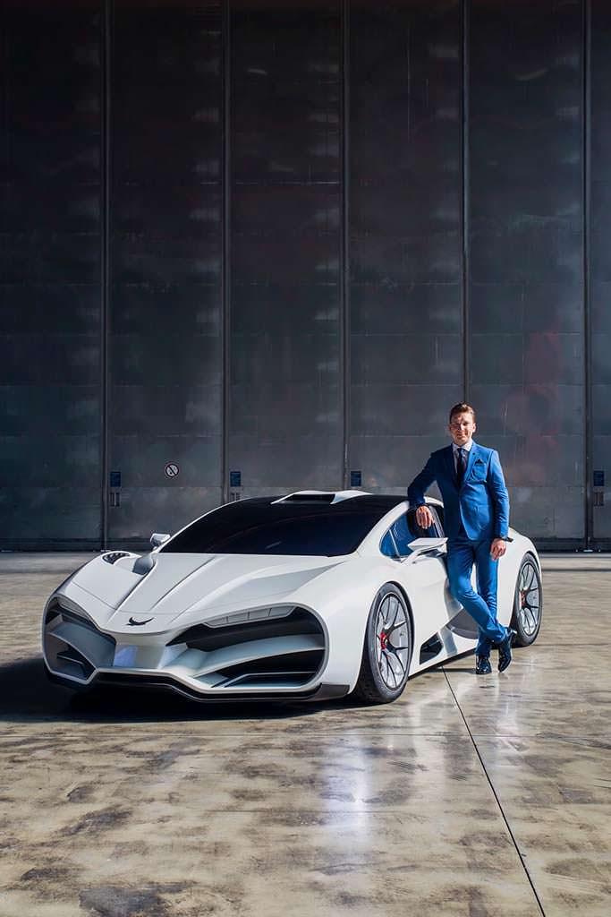 Гиперкар Milan Red - австрийский ответ Bugatti Chiron