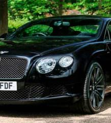 Bentley Continental GT Speed Элтона Джона уйдет с молотка