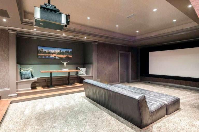 Домашний кинотеатр у Джея Катлера