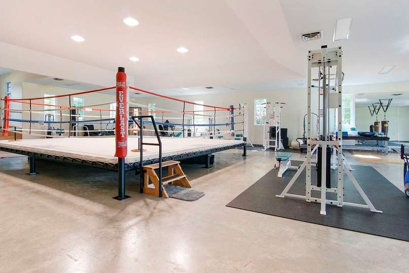 Боксерский ринг в доме Мохаммеда Али в Мичигане