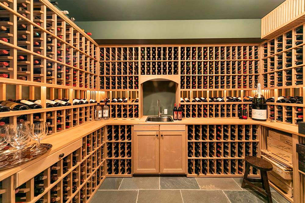 Домашний винный погреб на 1800 бутылок
