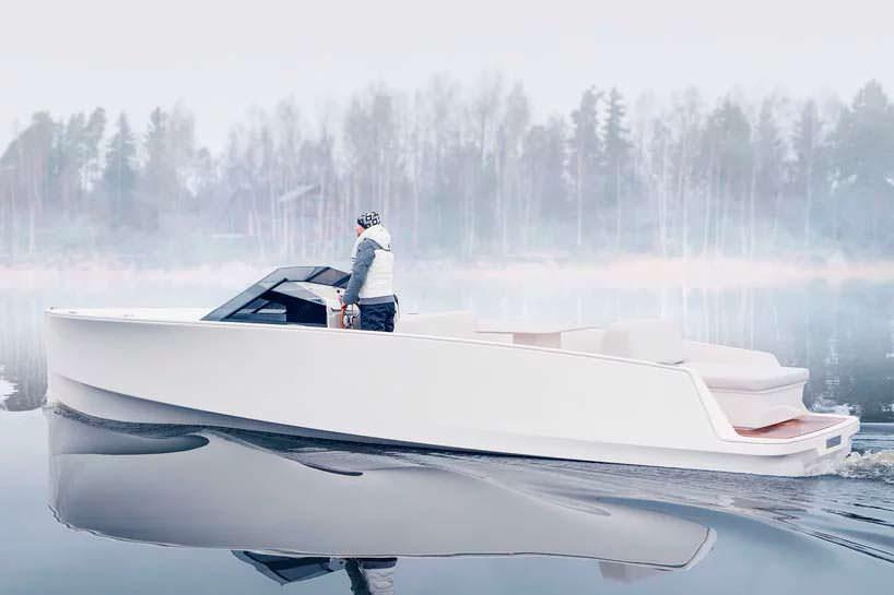 Тихий электро-катер Q-yachts Q30