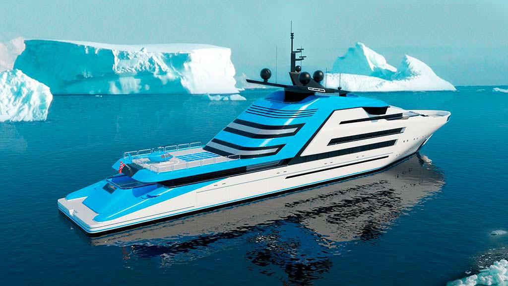 Исследовательская яхта Aurora Borealis от Strand Craft
