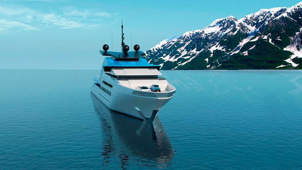 Шестипалубная яхта Aurora Borealis от Strand Craft