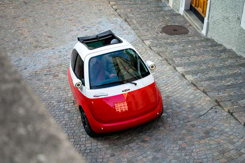 Мини электромобиль Microlino по мотивам BMW Isetta