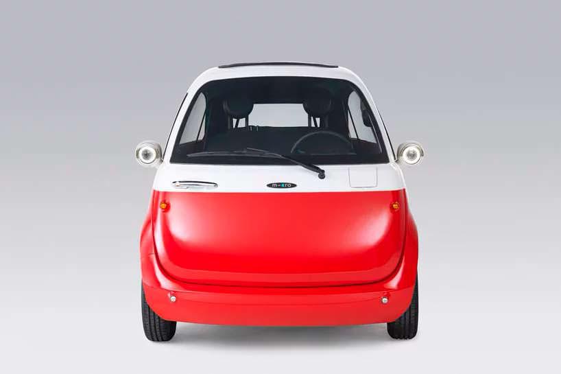 Компактный электромобиль Microlino