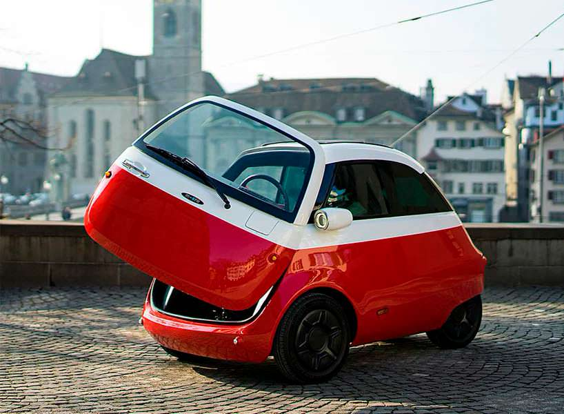 Электромобиль Microlino в духе BMW Izetta