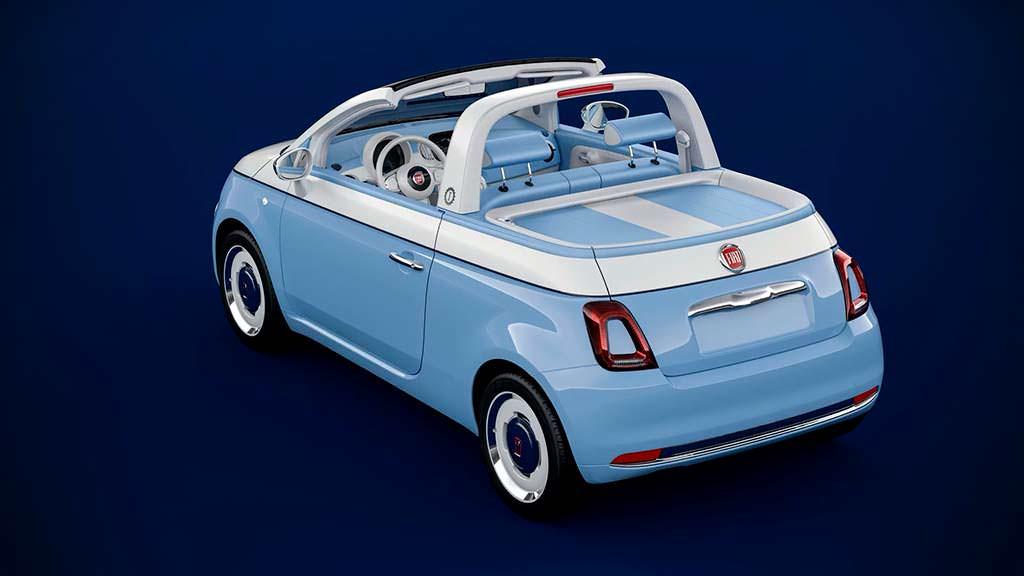 Мини-пикап Fiat 500 Spiaggina by Garage Italia