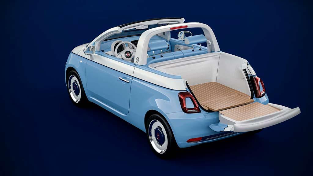Ретро-пикап Fiat 500 от Garage Italia и Pininfarina