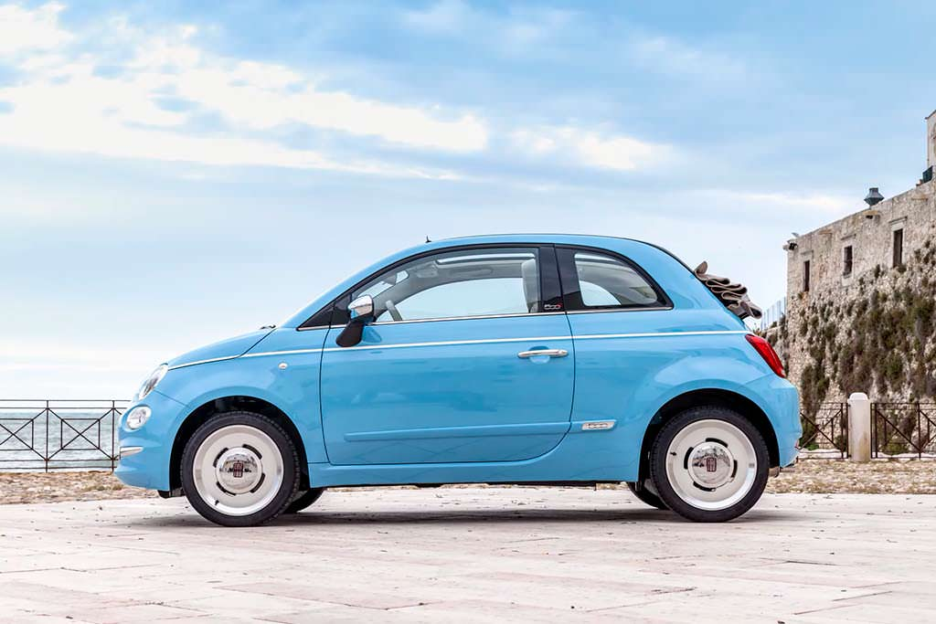 Ретро-хэтчбек Fiat 500 Spiaggina '58