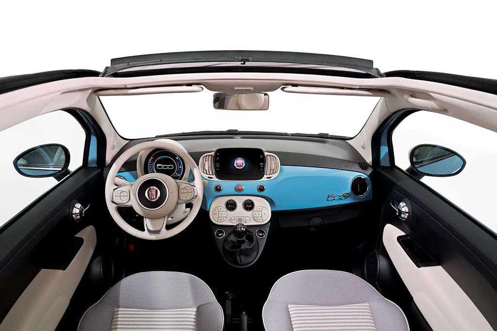 Салон Fiat 500 Spiaggina '58