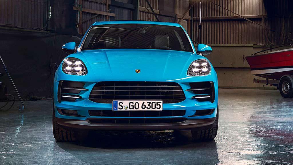 Новый Porsche Macan 2019 модельного года
