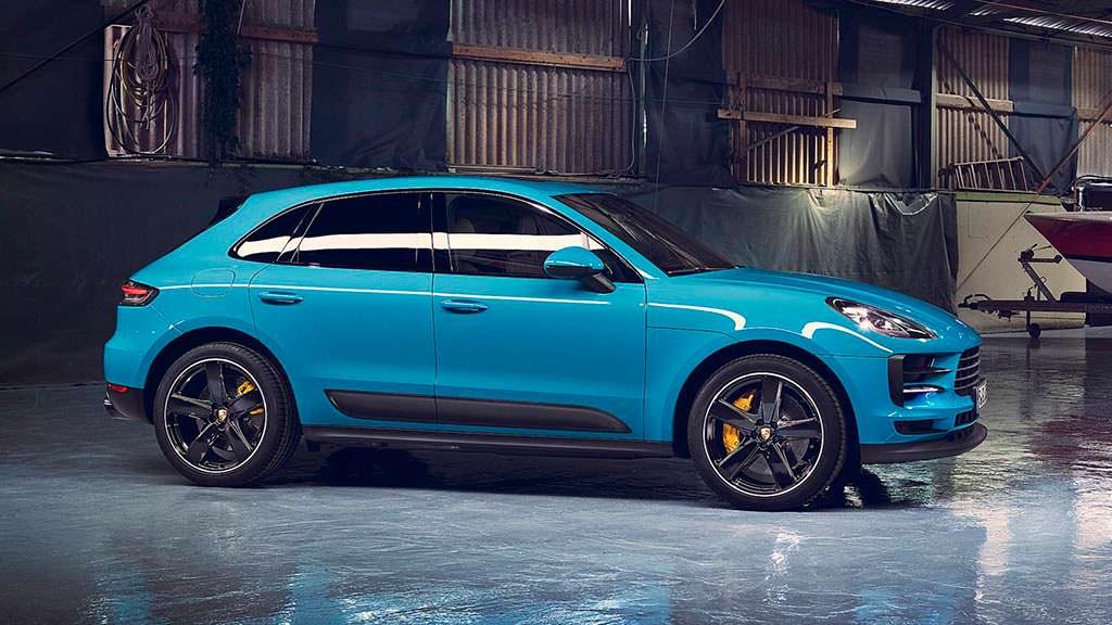 Рестайлинг Porsche Macan 2019 года